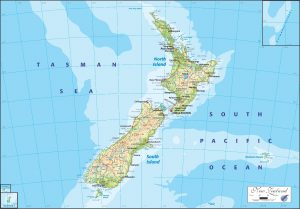 AS/OGMN02 New Zealand Physical Map