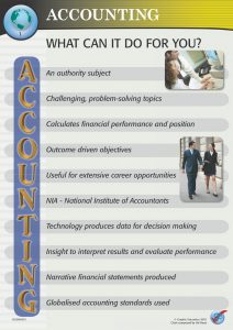 What can Accounting do for you?