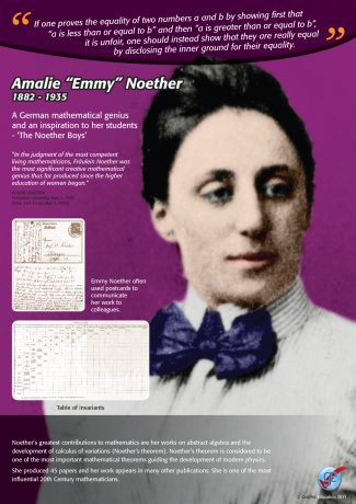 "Amalie ""Emmy"" Noether"