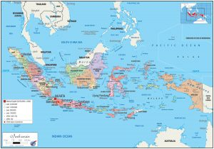Indonesia-Political Map