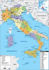 Italy Political Map